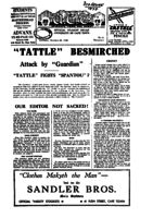 U.C.Tattle, v.5(6), 20 October 1938