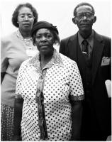 Family of Maki Skhosana, necklacing victim, Duduza township, 1997