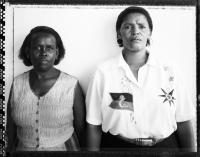 Sindiswa Mkonto and Nomonde Calata, Cradock Four widows, Michausdal township, 1997