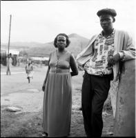 Sindiswa Mkonto and her son, Lonwabo, Lingelihle township, 1997
