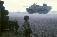 South African army in Namibia