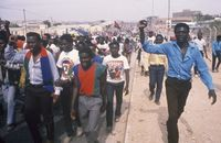 SWAPO supporters