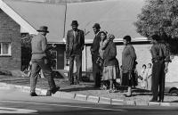 Police inform families of executions, Pretoria, 1987
