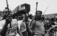 Anti-COSATU parade, Durban, May Day 1986