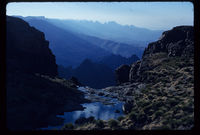 Cathkin Peak. Top of Nkosasana River. Late p.m.