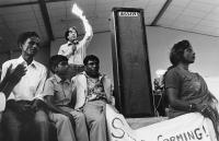 Rent protest, Phoenix township, 1981