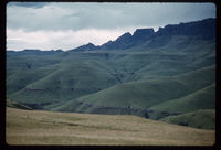 Cathkin from research area. Cathedral Peak. Early March 1961