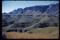 From Ndedema Saddle to Cathkin. Mid March 1961