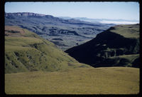 Mazongwaan Valley. Cathedral Peak. Mid March 1961