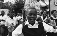 Student protest, Durban, 1986
