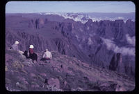 From Cleft Peak. Roald & Hugh & Philip van der Riet