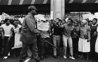 Student demonstration, Durban, 1985