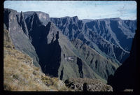 Mnweni Pinnacles from Mnweni Pass