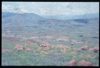 Upper Tugela Location looking north from 134/81 [North east Summit of Ngonyama mountain above Emmaus][288]