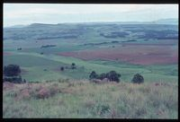 Looking south east over Key Area from Ntabanobendle. Plot 102/81 [Above Farm Bertam][196]. Assumed to be near Arthur's Seat