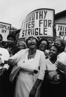 Dorothy Nyembe's return home, KwaMashu, Durban, 1984