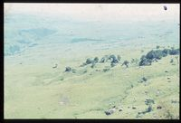 Little Tugela Valley looking north east down valley to Drakensberg location No 2. North facing slopes in foreground