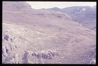 Organ Pipes.  Looking west into Lesotho. 3978