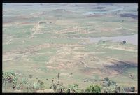 Site of Hoftenthal mission. Plot 77/81 was located on spur in middle of photo. View looking north. Tugela (indicated on photo)