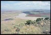 Tugela River - Upper Tugela Location above Hoffenthal on the Delta. Original caption states 'looking north west', however nowhere near Hoffenthal looking north west has this view - possibly west south west. Possibly 2829CD