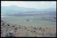 Looking east over Mlambonja flood plain over farm The Delta