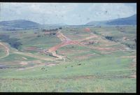 Nhlambabantwana River Valley.  Looking North from vicinity 129/81 over Upper Tugela Location