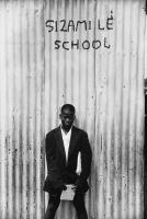 School boy, Crossroads, South Africa, 1979