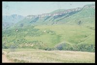 Southern slopes of Little Tugela Valley