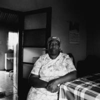 Pauline Kuzwayo, whose son was shot dead, Kathlehong township, South Africa