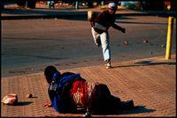 Hostel wars, South Africa, 1990