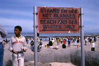 Protest for open beaches, Strand