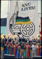 COSATU living wage choir, Soweto, 1989