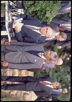 Mandela and De Klerk at a meeting, Cape Town, 1990