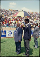 Sisulu, release of ANC prisoners, Soweto, 1989