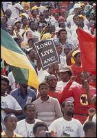 ANC rally for release of prisoners, Soweto, 1989