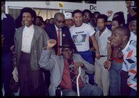 Released political prisoner, Cape Town