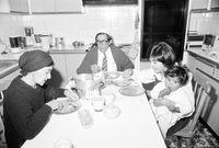 Zubeida Jaffer and family, Cape Town