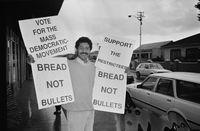 Mass Democratic Movement campaign