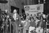 UDF 'Defy Apartheid' campaign, Cape Town