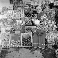 Fruit and Vegetable trader, Ruwayda Bowren, 1996
