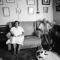 Matilda and Joseph Davids, 1996