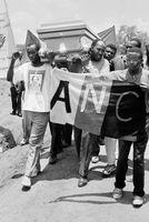 SARWHU funeral, Venda, 1990