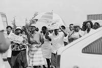 NEHAWU strike, Johannesburg, 1990