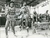 Amampondo and dancers perform on stage, Cape Town