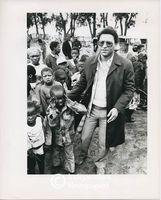 Allan Boesak with young children, Cape Town