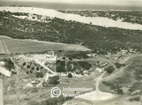 Aerial view of Faure Kramat, Cape Town