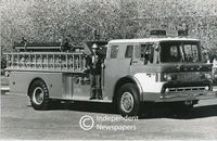 First automated control fire engine, Cape Town