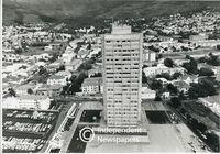 Aerial view, Gardens, Cape Town