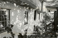 Zandvliet's Georgian-style main house in a state of disrepair, Cape Town