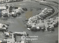 Aerial view of Marina Da Gama, Cape Town